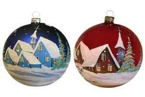 Polish Glasses, Potato Grater, and Christmas Ornaments