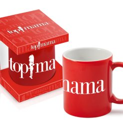 Top Mama - Top Mom Red Mug-0