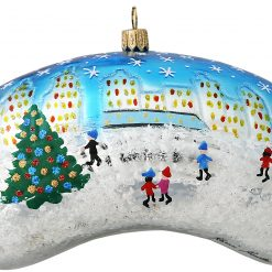 Chicago Bean with Kids Christmas Ornament - Big-0