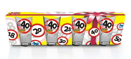 Polish Shot Glasses - Birthday Signs - 40-0