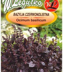 Polish Basil Seeds - Bazylia Czerwonolistna-0