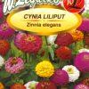 Polish Zinnia Seeds - Cynia - Liliput-0