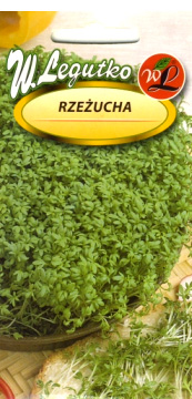Polish Garden Cress Seeds - Rzezucha-0