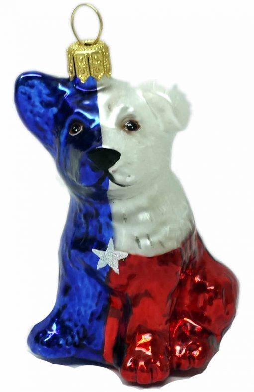 Houston - Texas Dog Ornament (Mys9036403)-0