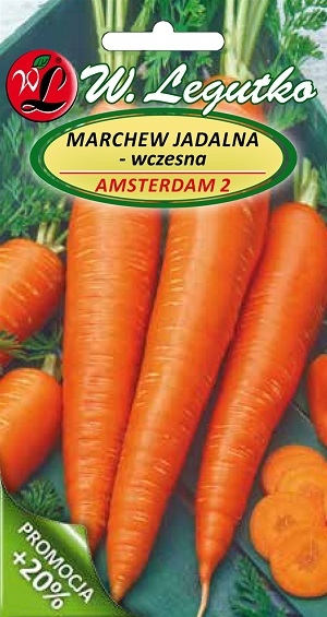 Polish Carrot Seeds - Marchew - Amsterdam-0