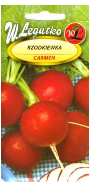 Polish Radish Seeds - Rzodkiewka - Carmen-0