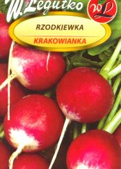 Polish Radish Seeds - Rzodkiewka - Krakowianka-0
