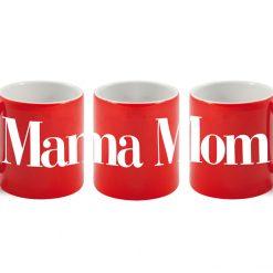 Mama - Mom Red Mug-0