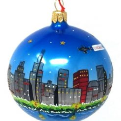 Chicago Skyline Ornament (Mys956)-0