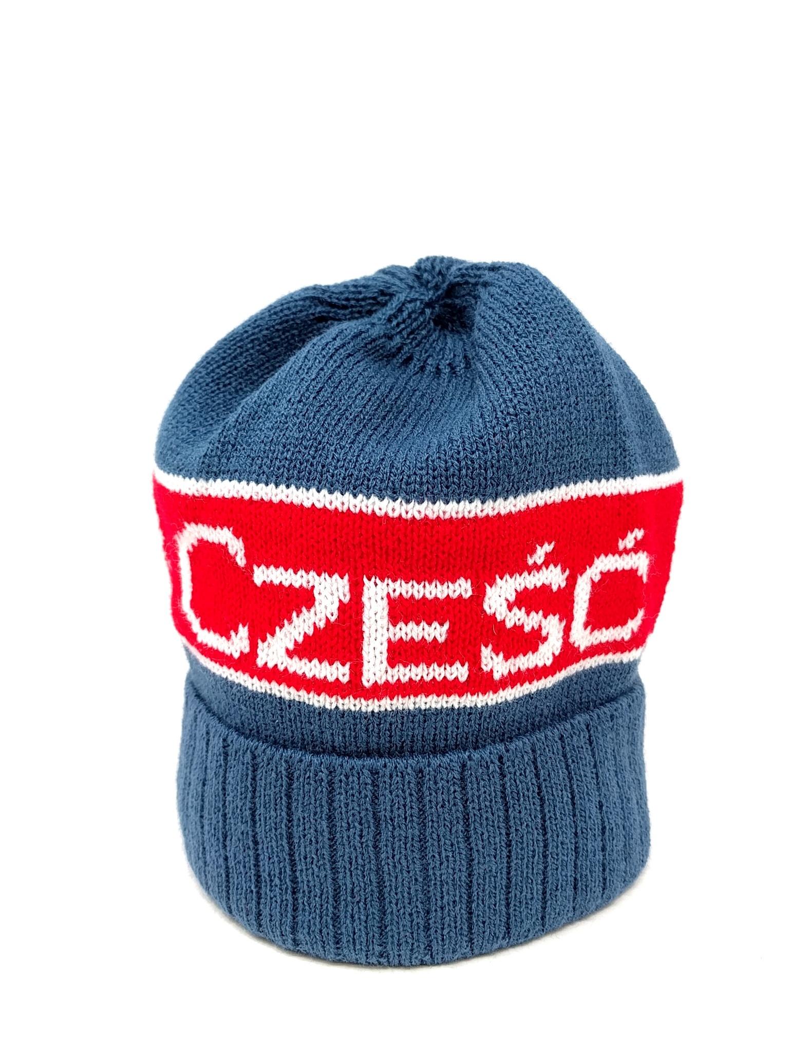 Blue Knit Hat Ornament