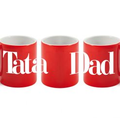 Tata - Dad Red Mug-0