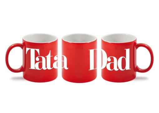 Tata - Dad Red Mug-0