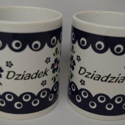 Dziadek - Dziadzia Mug from Poland - Blue Eye - Country Style-0