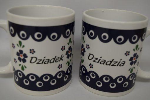 Dziadek - Dziadzia Mug from Poland - Blue Eye - Country Style-0