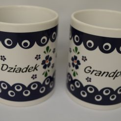 Dziadek - Grandpa Mug from Poland - Blue Eye - Country Style-0