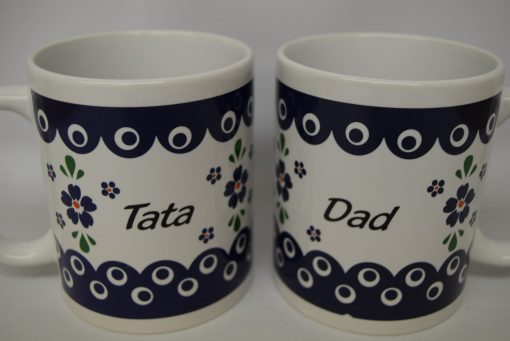 Tata - Dad Mug from Poland - Blue Eye - Country Style-0