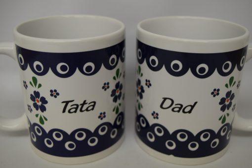 Tata - Dad Mug from Poland - Blue Eye - Country Style-0