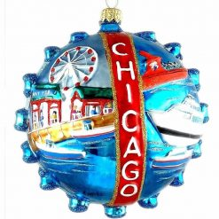 Chicago Navy Pier Ornament (Mys971)-0
