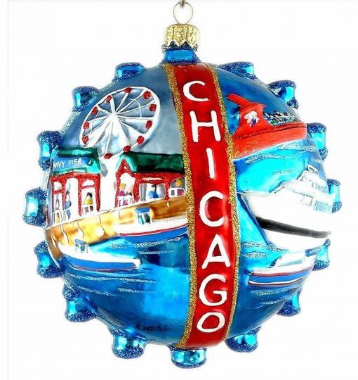 Chicago Navy Pier Ornament (Mys971)-0