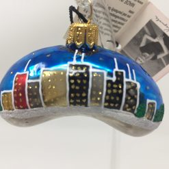 Chicago Mini Bean Ornament (Sew132)-0