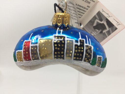 Chicago Mini Bean Ornament (Sew132)-0