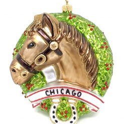 Chicago Horse Ornament (Sew123)-0