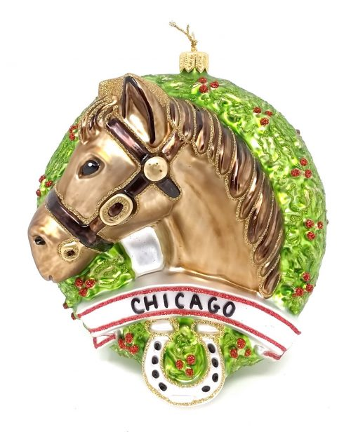 Chicago Horse Ornament (Sew123)-0