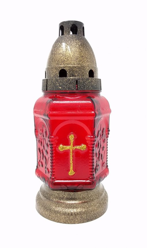 Cemetery Candle - Red - Znicz - ZP-308-0