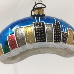Chicago Mini Bean - Chicago - Ornament (Sew133)-0