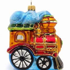 Steam Locomotive Ornament (Sew177)-0