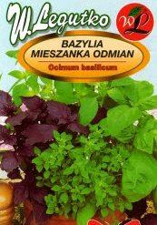 Polish Mixed Basil Seeds - Bazylia - Mieszanka-0