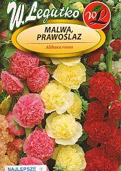Polish Hollyhock Mixed Seeds - Malwa - Prawoslaz-0