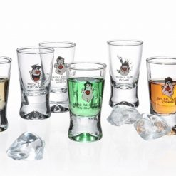 Polish Shot Glasses - Humor X - 25 ml - Set of 6-0