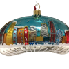 Chicago Bean Ornament - Night - Small (Mys9082)-5216