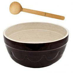 Makutra Mixing Bowl - 4L with Wooden Utensil-0