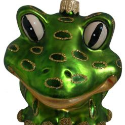 Frog Christmas Ornament (Sew71)-0