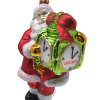 Santa Claus with Chicago Clock Ornament (Sew118)-0