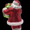 Santa Claus with Chicago Clock Ornament (Sew118)-5227