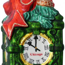 chicago marshall fields clock christmas ornament
