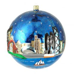 Picasso Sculpture Chicago Ornament (Mys921)-0