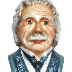 Albert Einstein Christmas Ornament-0
