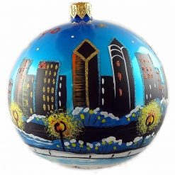 Chicago Lake Michigan Skyline Ornament (Mys945)-0