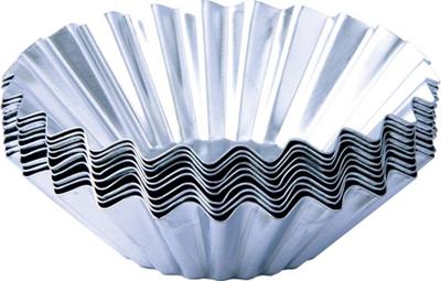 Cupcake Baking Tin Mold Cups - Foremki Babeczki - 70mm-0
