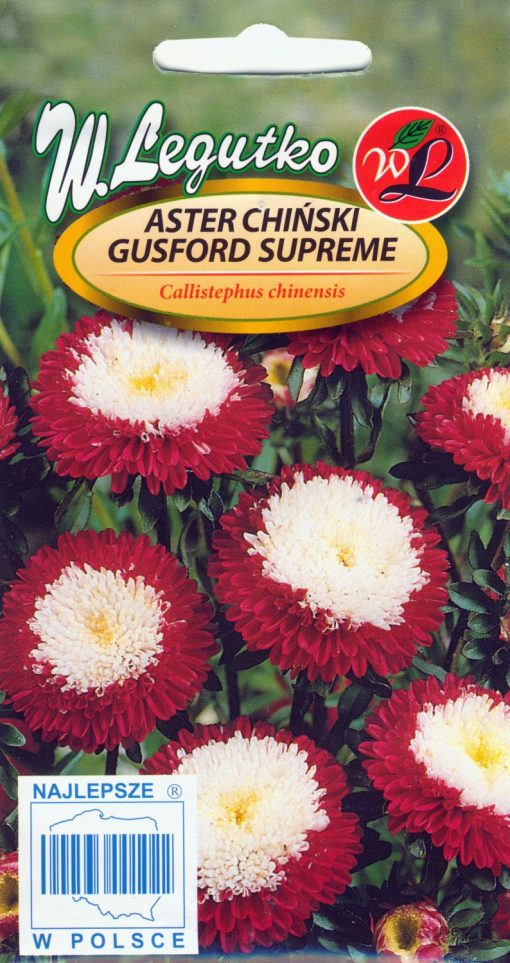 Polish Chinese Aster Seeds - Aster Chinski - Supreme Gusford-0