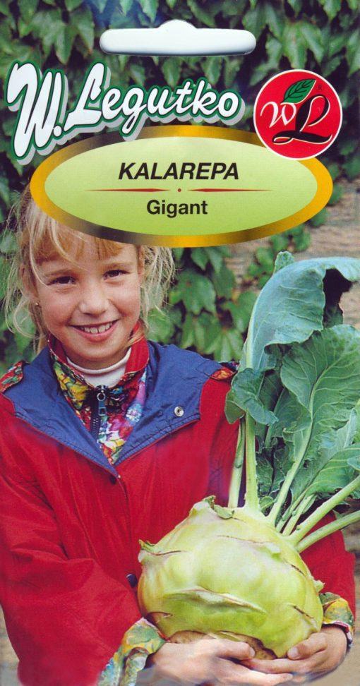 Polish Kohlrabi Seeds - Kalarepa - Giant-0