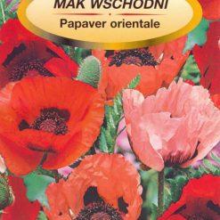 Polish Poppy Flower Seeds - Mak - Oriental Mix-0