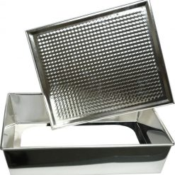 Rectangular Textured Baking Tin with Removable Bottom - 280-0