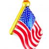 USA Flag Ornament (Max1604)-0