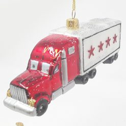 Chicago Truck Christmas Ornament {Sew136}-0