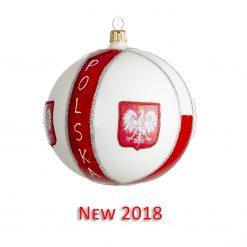 Poland Christmas Ornament {Mys975}-0